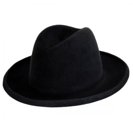 Bailey Bradford Velour Fur Felt Fedora Hat