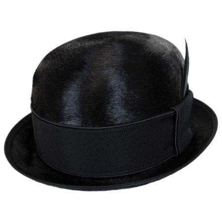 Bailey Palance Brushed Fur Felt Bowler Hat