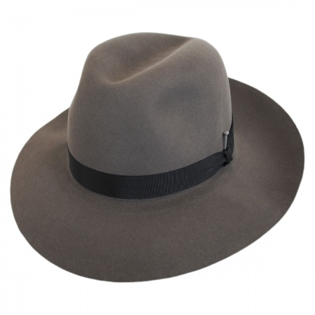 Ralat Superior Fur Felt Fedora Hat alternate view 1