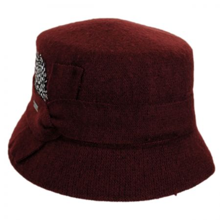 Betmar Laurel Wool Bucket Hat