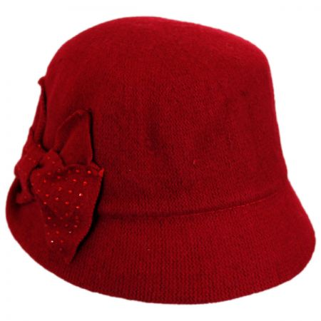 Betmar Betty Wool Cloche Hat