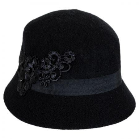 Betmar Mindenhall Wool Cloche Hat