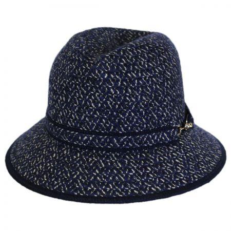 Betmar Hudson Knit Braid Fedora Hat