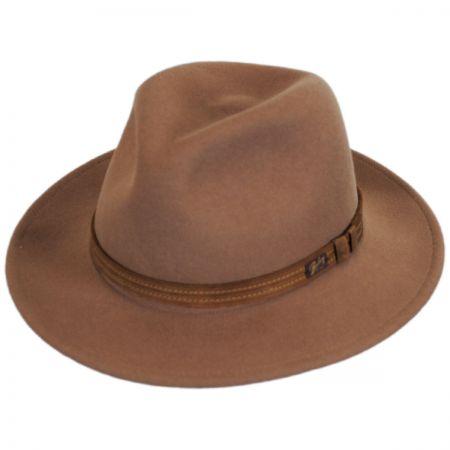 0068edf04 Kesey Wool LiteFelt Fedora Hat