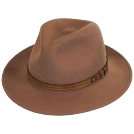 Bailey Kesey Wool LiteFelt Fedora Hat