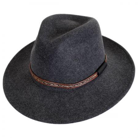 Rhode Wool LiteFelt Fedora Hat alternate view 1