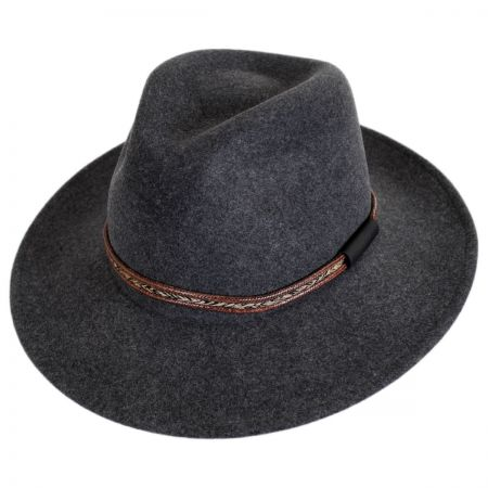 68bcdc880e560 Bailey Packable Fedora at Village Hat Shop