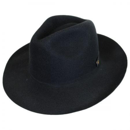 caac27b812ba67 Wool Trilby at Village Hat Shop