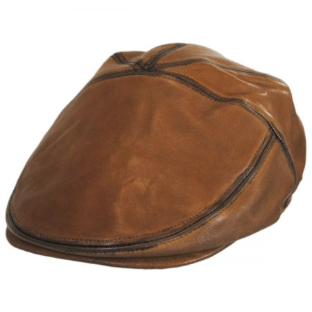 Glasby Lambskin Leather Ivy Cap alternate view 13