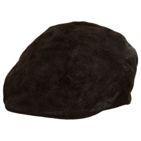 Bailey Lazar Lambskin Suede Leather Ivy Cap