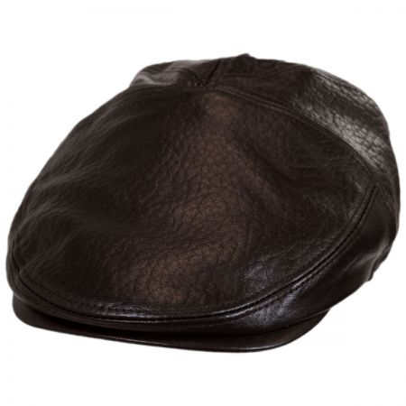 Bailey Langham Lambskin Leather Ivy Cap