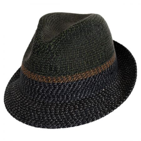 Ragon Toyo Braid Straw Trilby Fedora Hat alternate view 9