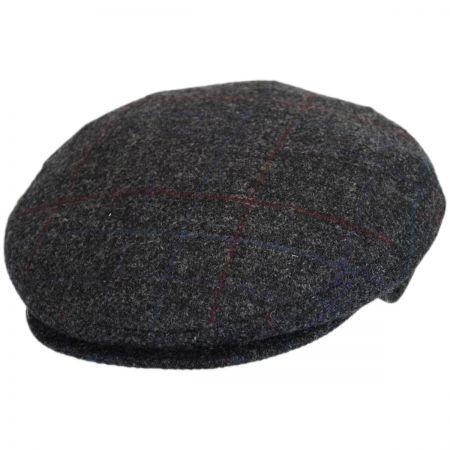 Bailey Lord Windowpane Plaid Wool Ivy Cap
