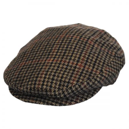 Bailey Lord Houndstooth Tweed Wool Blend Ivy Cap