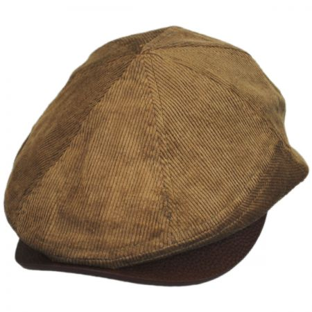 Corduroy Leather Bill Driver Cap alternate view 11