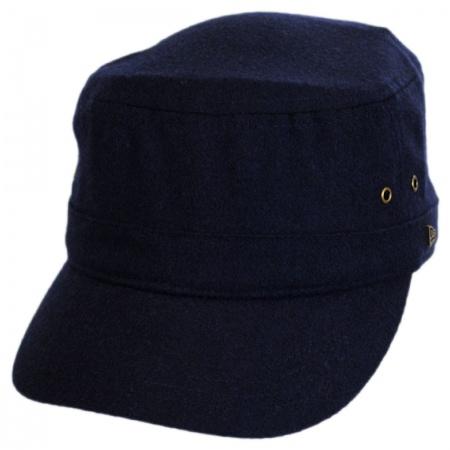 Essential Wool Blend Military Cadet Cap alternate view 3