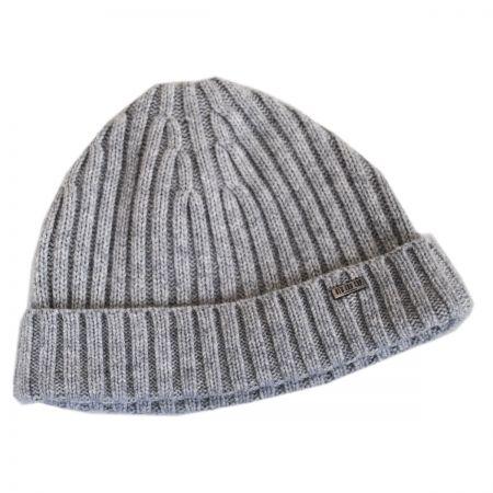 Cashmere Rib Knit Beanie Hat alternate view 3