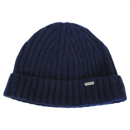 EK Collection by New Era Cashmere Rib Knit Beanie Hat
