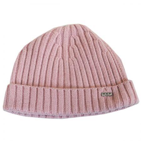 Cashmere Rib Knit Beanie Hat