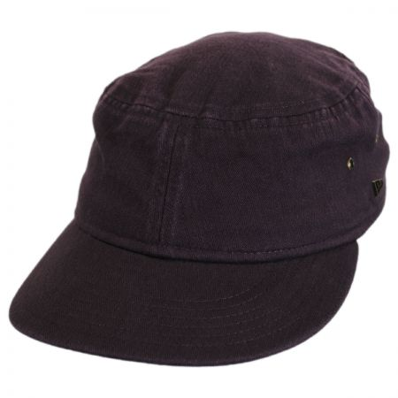 Packable Cotton Military Cadet Strapback Cap alternate view 6