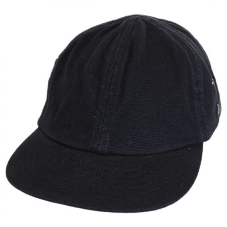ca1e953fd50 Black Leather Newsboy Cap at Village Hat Shop