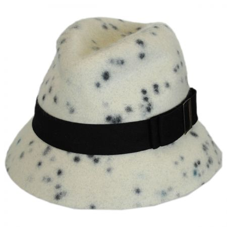 La Rochelle Wool Felt Fedora Hat alternate view 1