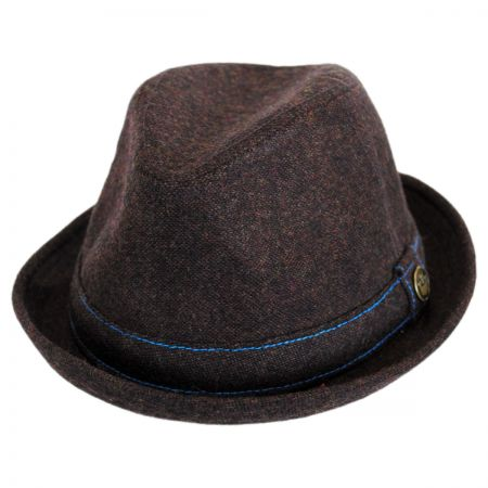 Goorin Bros The Barber Wool Blend Trilby Fedora Hat