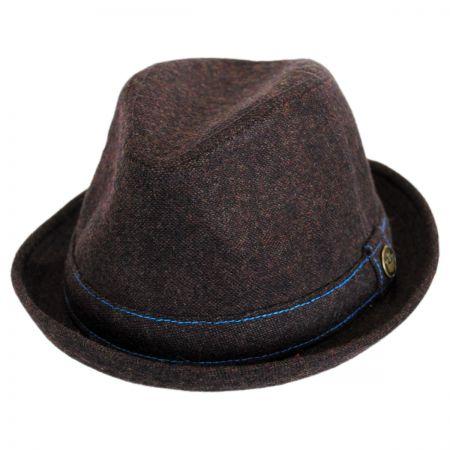Goorin Bros The Barber Wool Blend Trilby Fedora Hat