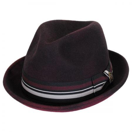 Goorin Bros Miles D Wool Trilby Fedora Hat