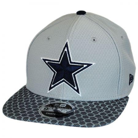 New Era Dallas Cowboys NFL Sideline 9FIFTY Snapback Baseball Cap