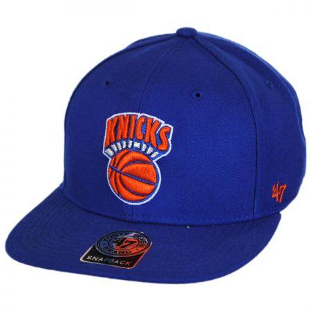 47 Brand New York Knicks NBA Sure Shot Snapback Baseball Cap