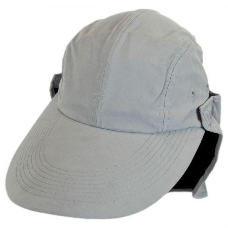 Microfibre Flap Baseball Cap