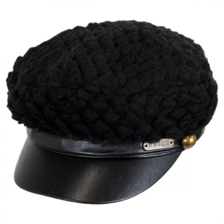 Leather Driving Cap at Village Hat Shop 4ec7bc7bbcf