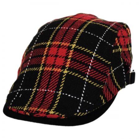 Hatch Hats Plaid Wool Blend Adjustable Ivy Cap