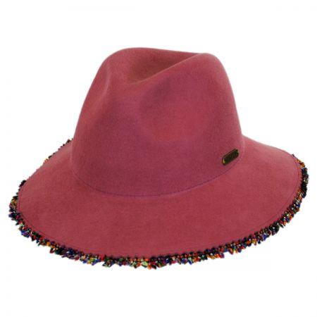 Hatch Hats Fringe Wool Felt Safari Fedora Hat