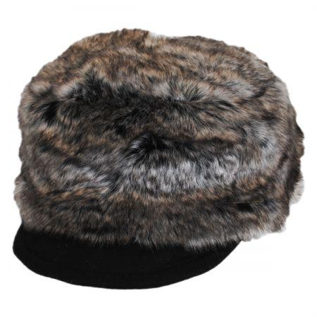 Faux Fur Cadet Cap alternate view 1