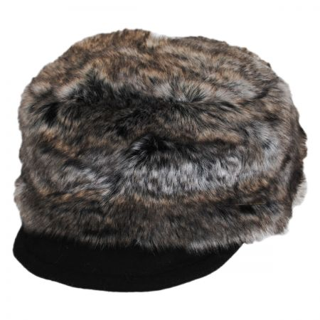Hatch Hats Faux Fur Cadet Cap