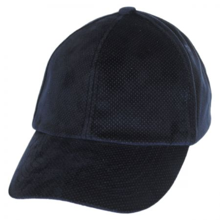 Leff Velvet Micro-Dot Strapback Baseball Cap Dad Hat alternate view 5