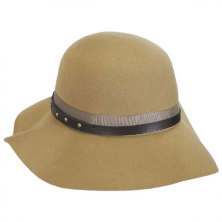Betmar Hayden Wool Felt Floppy Hat