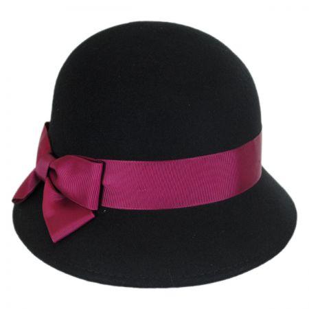 Emma Wool Felt Cloche Hat
