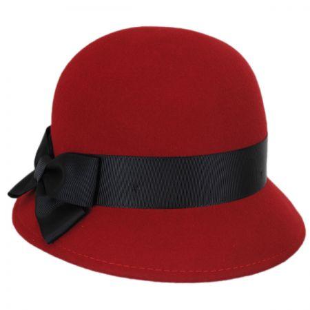Emma Wool Felt Cloche Hat alternate view 4