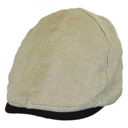 Stetson Buckhead Linen and Cotton Duckbill Ivy Cap