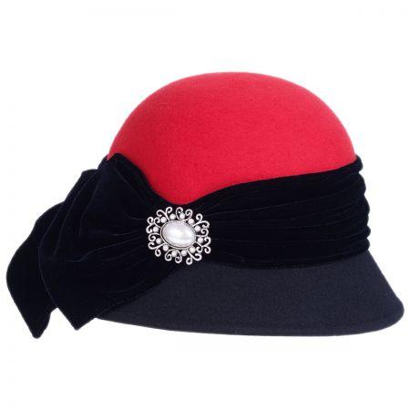 4a5a052f62c2df Red Felt Hats at Village Hat Shop