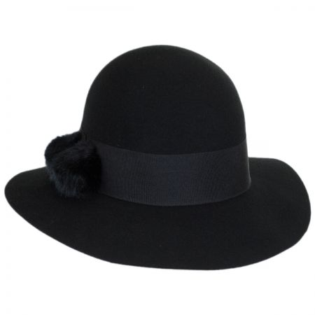 Mullins Wool Felt Floppy Hat
