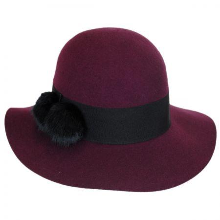 Betmar Mullins Wool Felt Floppy Hat