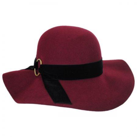 Betmar Wharton Wool Felt Floppy Hat