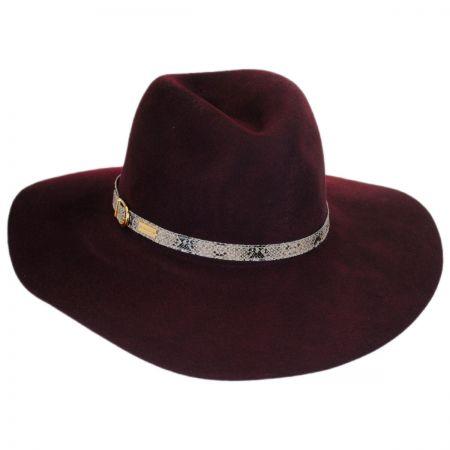 Betmar Tessa Wool LiteFelt Fedora Hat