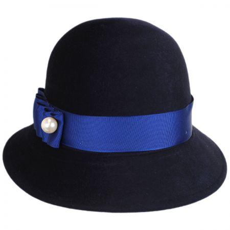 Betmar Cassat Wool LiteFelt Cloche Hat