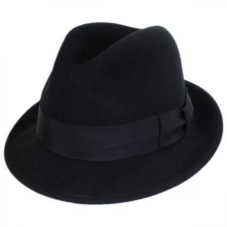 Bailey Craven Earflap Wool LiteFelt Trilby Fedora Hat