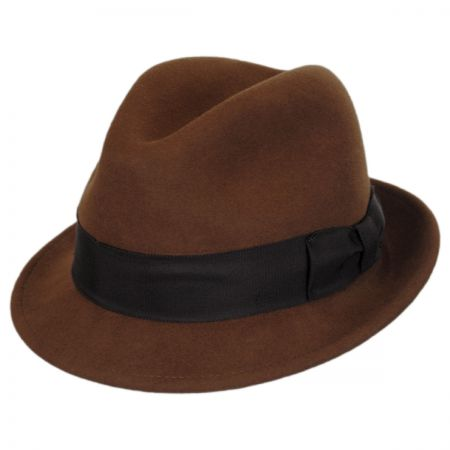 Bailey Craven Earflap Wool LiteFelt Trilby Fedora Hat